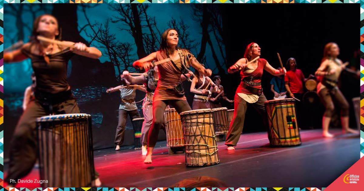 Dun DUn Danse Danza africana sui tamburi bassi