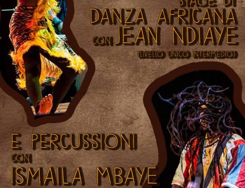 17-18 gennaio 2015 – Stage di danza e percussioni africane con JEAN NDIAYE e ISMAILA MBAYE