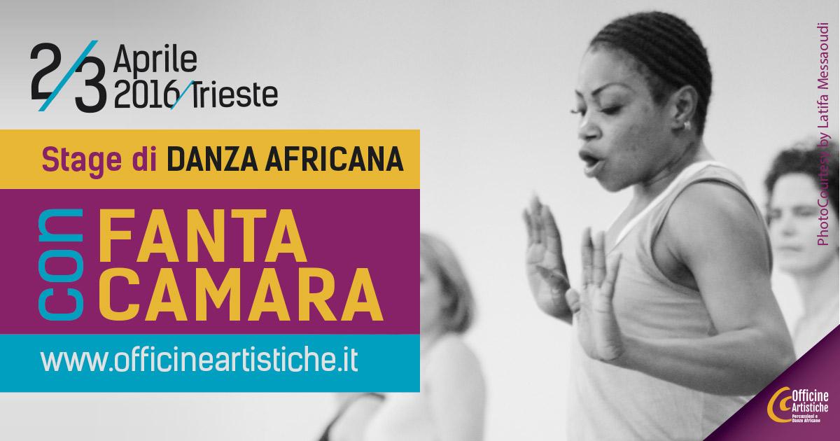 STAGE DI DANZA AFRICANA con FANTA CAMARA (Guinea)