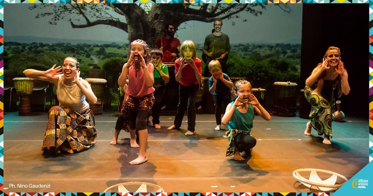 Danza africana per bambini