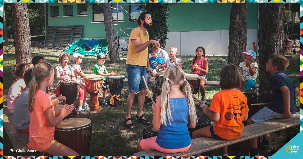 Ritmi, Percussioni e Musica per bambini