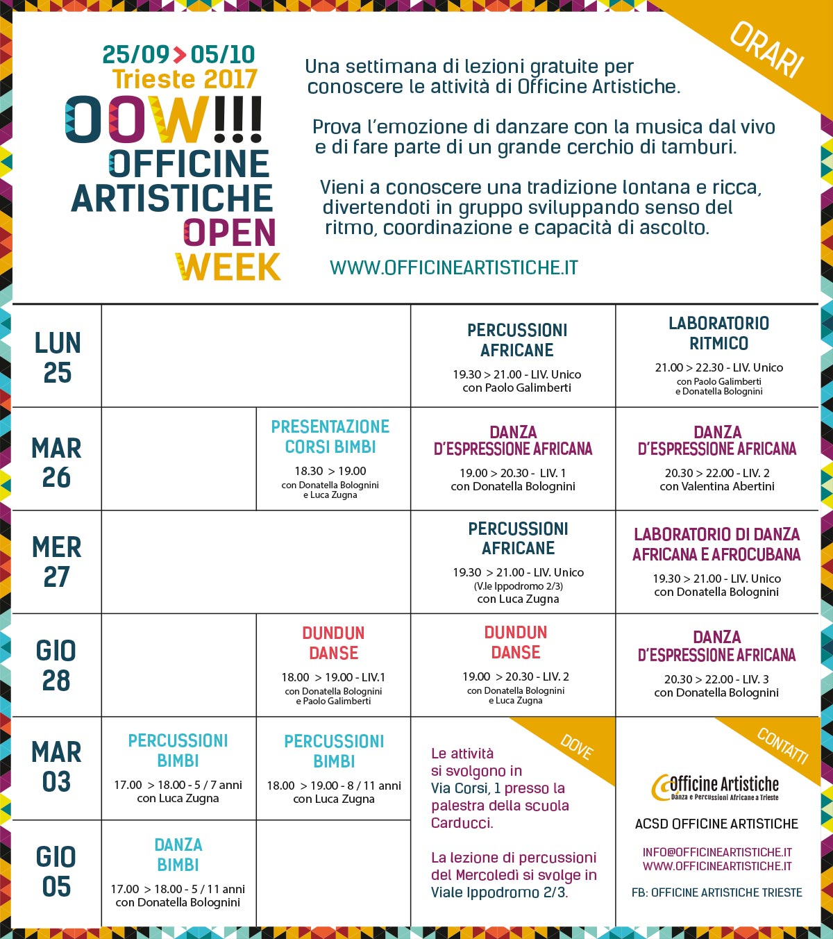 Orario_OOW_2017_Definitivo