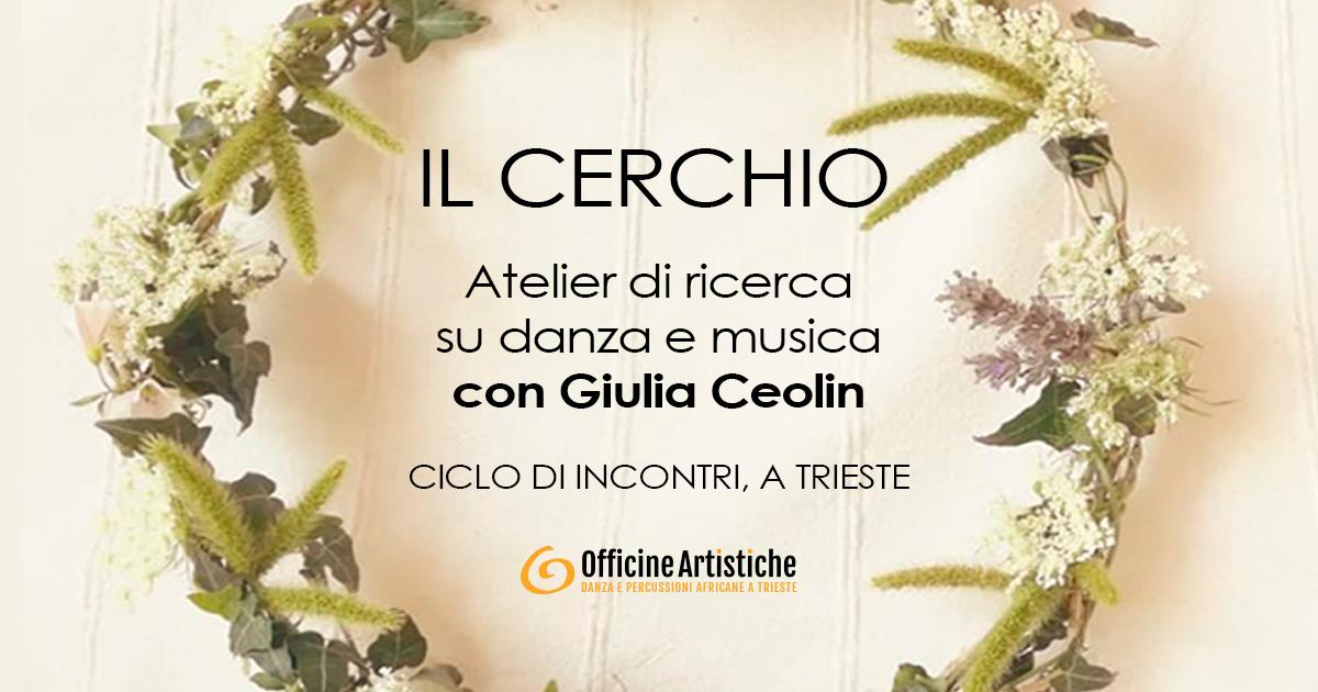 Atelier di ricerca su danza e musica con Giulia Ceolin