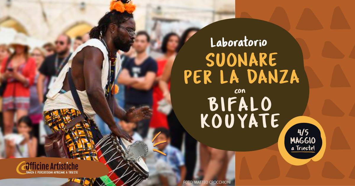Percussioni Africane Bifalo Kouyate