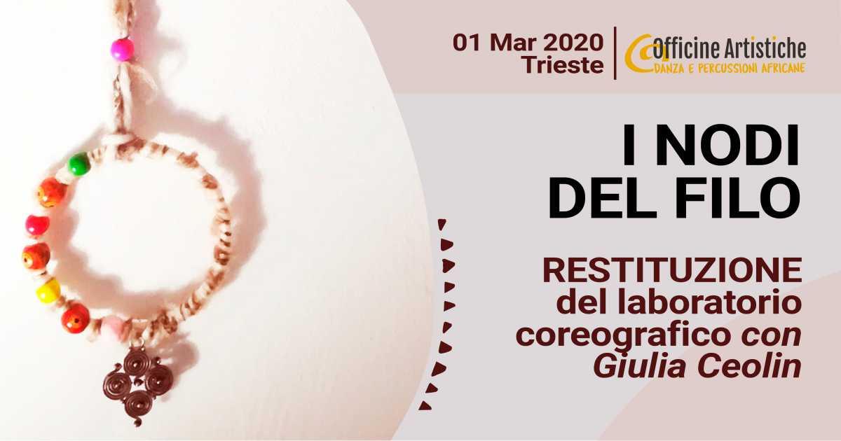 restituzione laboratorio coreografico con Giulia Ceolin