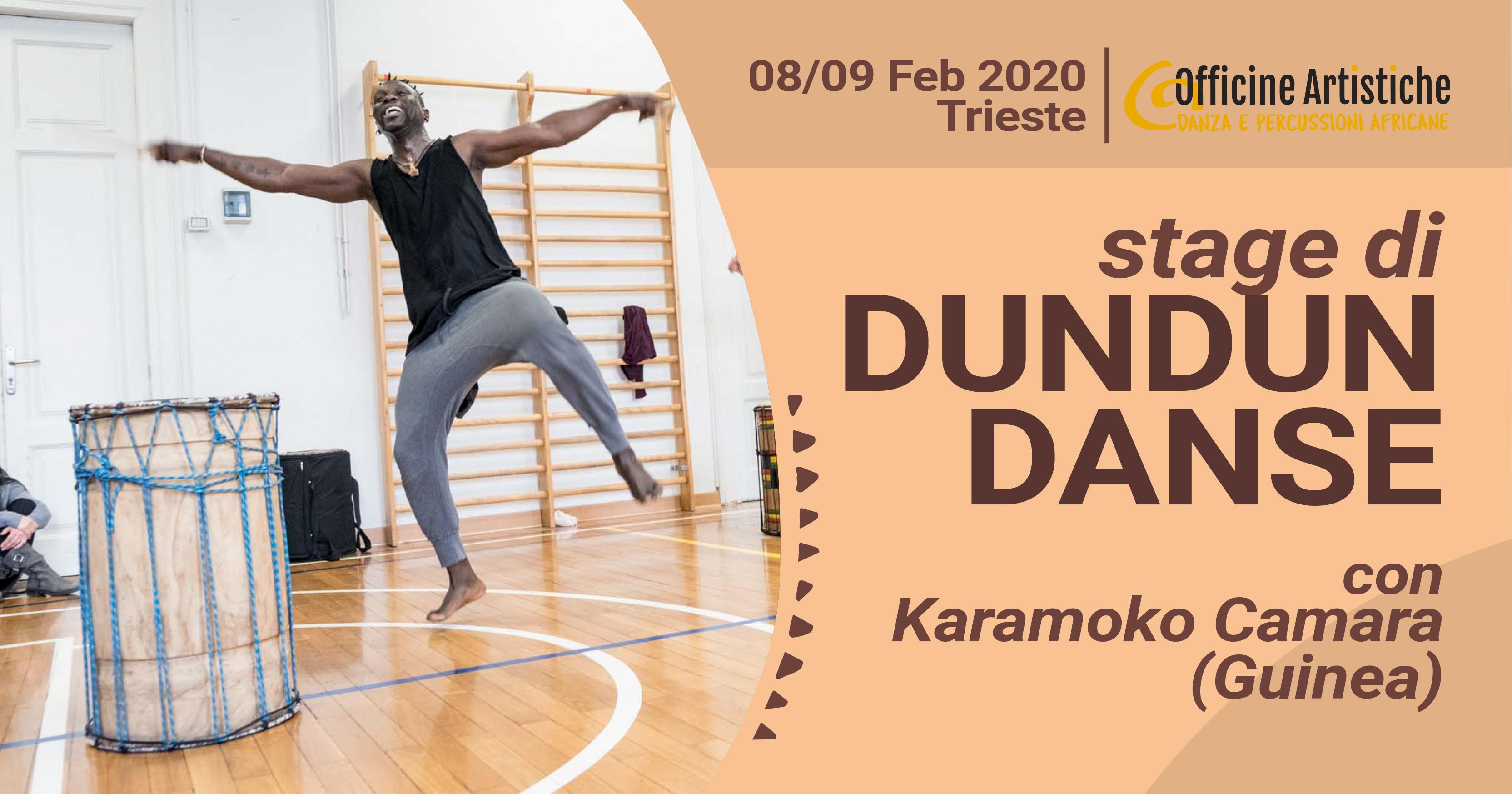 Dundun Danse con Karamoko Camara 2020