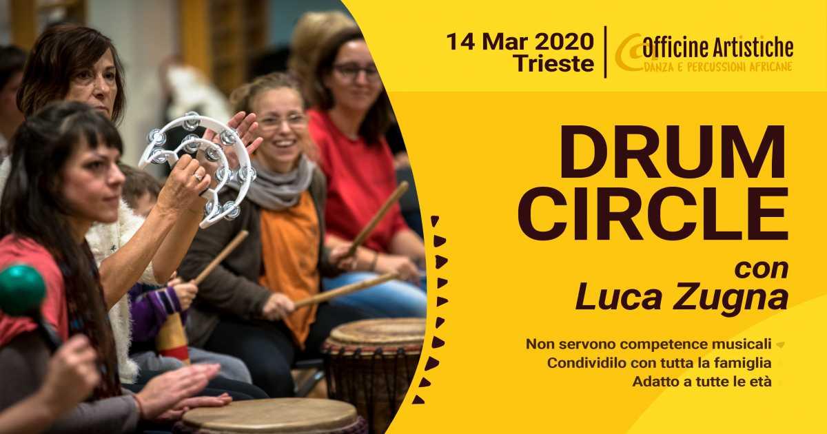 Drum Circle con Luca Zugna - Marzo 2020