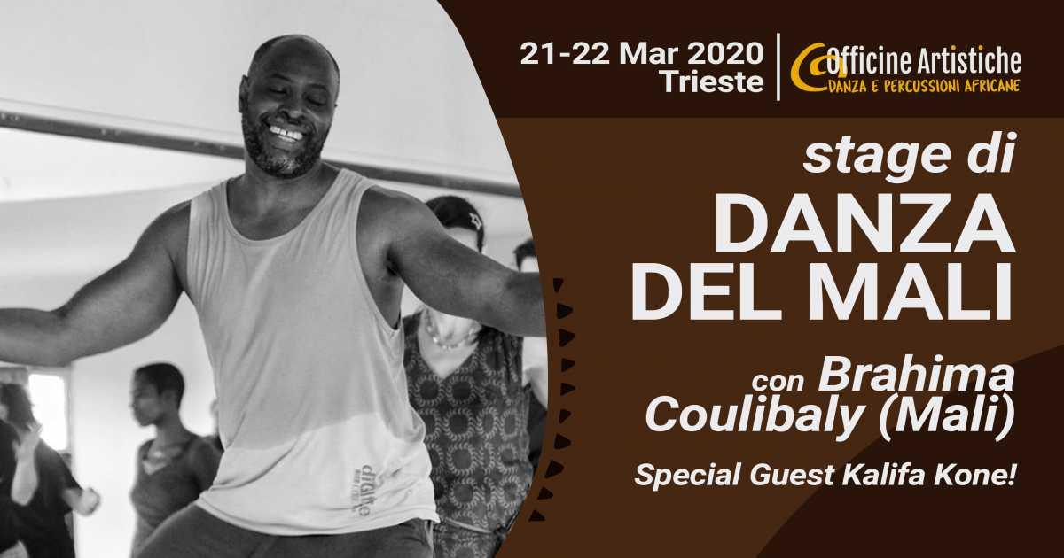 Stage di danza del Mali con Brahima Coulibaly