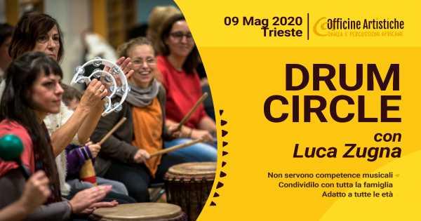 Drum Circle con Luca Zugna - Maggio 2020